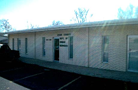 picture of Izard County DHS Office Melbourne