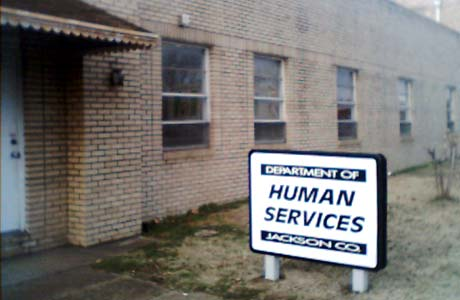 picture of Jackson County DHS Office Newport