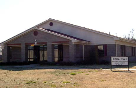 picture of Logan County DHS Office Booneville