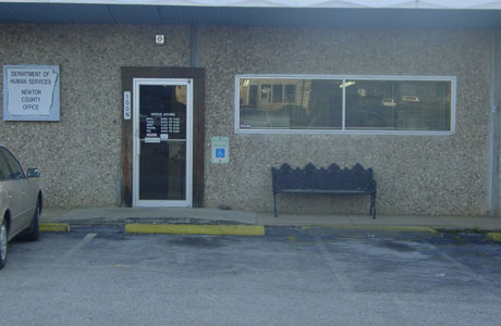 picture of Newton County DHS Office Jasper