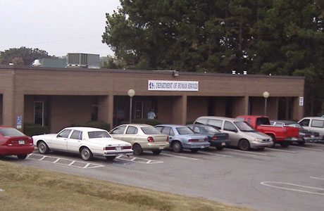 picture of Washington County DHS Office Fayetteville