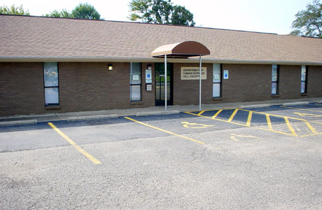 picture of Yell County DHS Office Danville